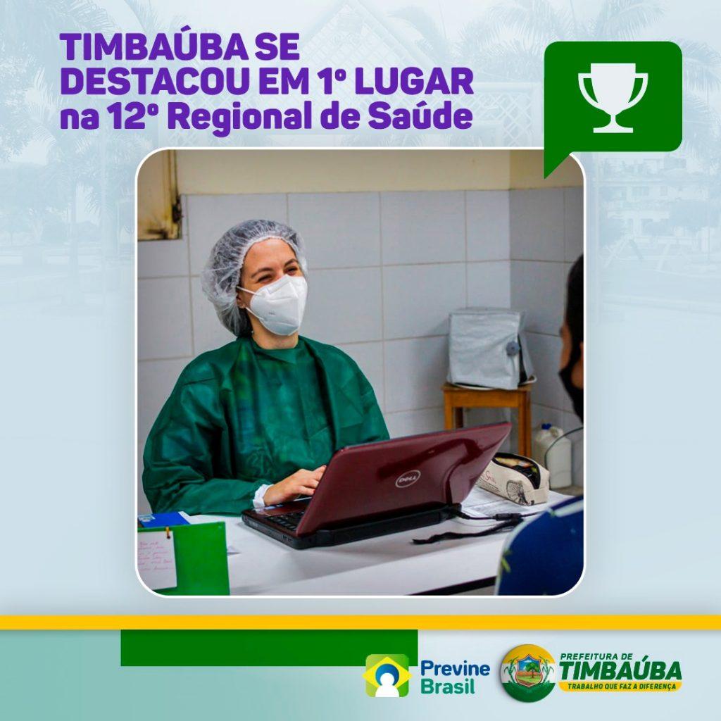 Secretaria de Saúde também é destaque em outras ações, como o atendimento noturno nos PSFs: Foto: Prefeitura de Timbaúba
